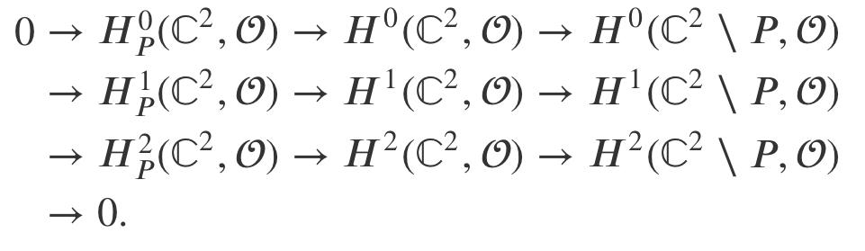 開多様体の1次コホモロジーの計算例   セシルの定理
